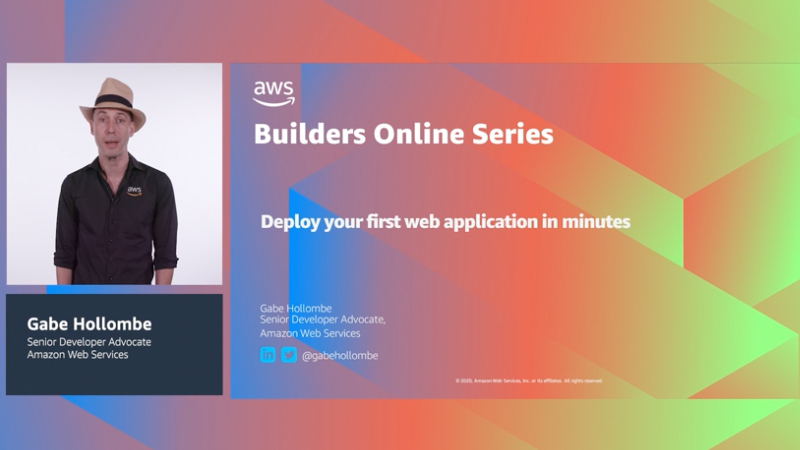 How to deploy your first web application in minutes (Level 200)