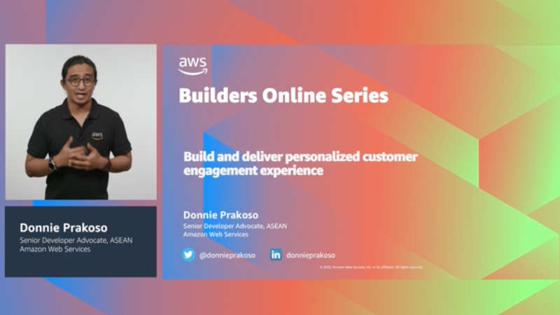 Build and deliver personalized customer engagement experience (Level 200)