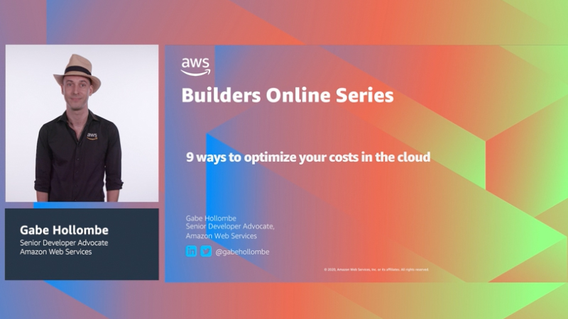 Nine ways to optimize your costs in the cloud (Level 100)