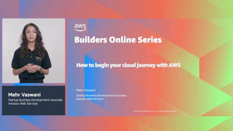 Startups: How to begin your cloud journey with AWS (Level 100)