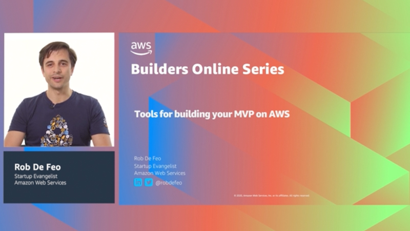 Tools for building your MVP on AWS (Level 100)
