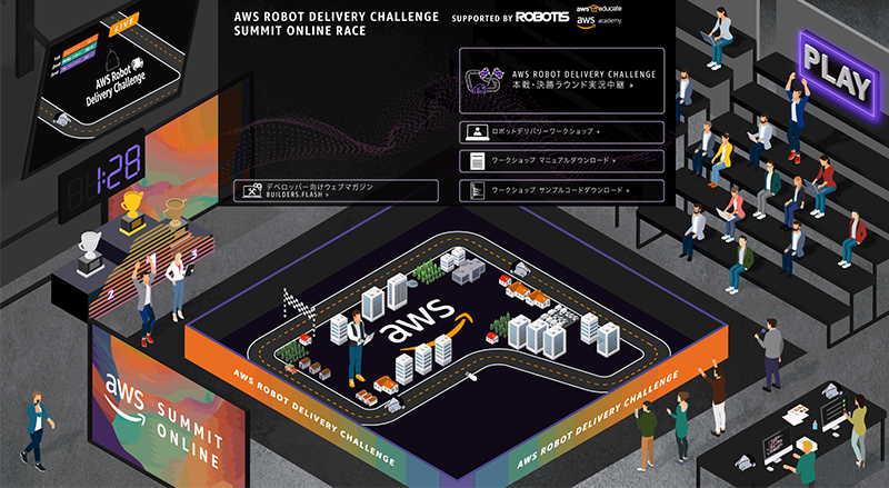 AWS Robot Delivery Challenge ゾーン