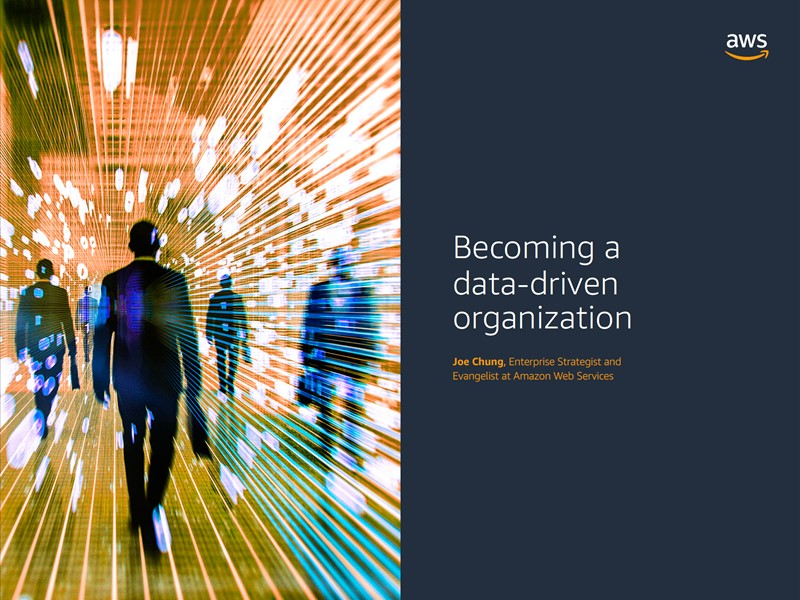 AWS Executive Insights Ebook: Becoming a Data-driven Organization