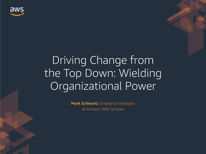 AWS Executive Insights Ebook: Driving Change from the Top Down