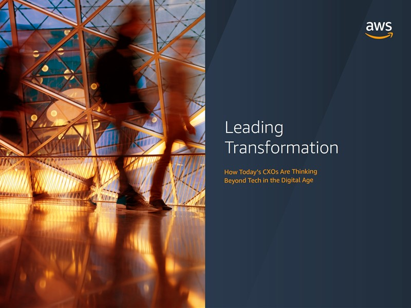 AWS Executive Insights Ebook: Leading Transformation