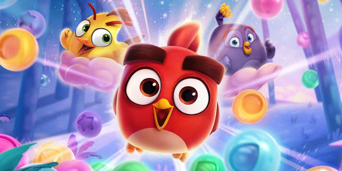 Promotional image for Angry Birds Dreamblast