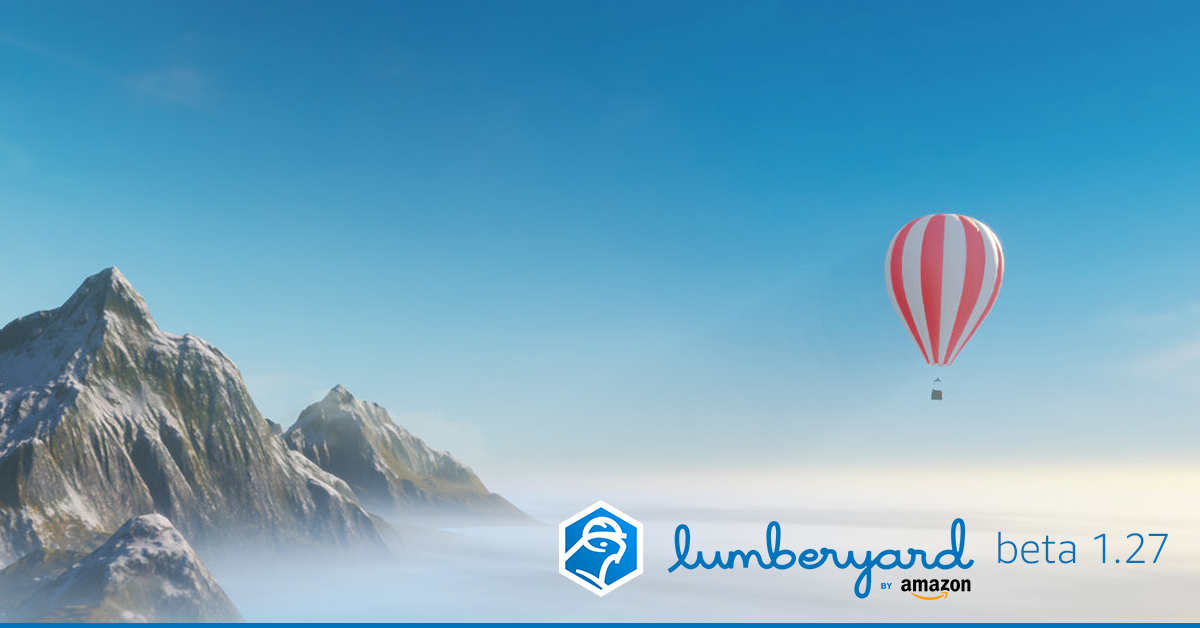 Learn more about Lumberyard 1.26 on the AWS Game Tech blog.