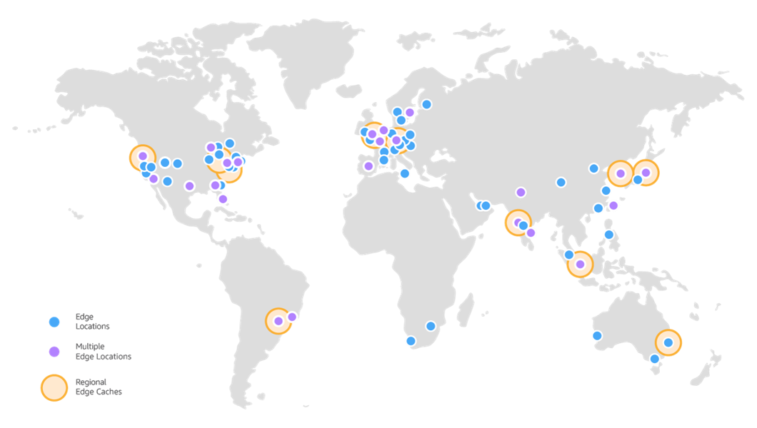 Amazon CloudFront Edge Locations