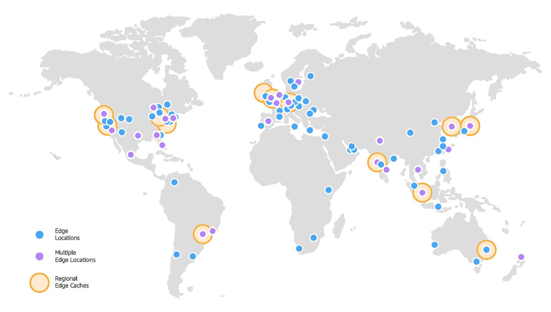 Amazon CloudFront Edge Locations