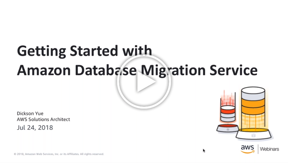 Getting Started with Amazon Database Migration Service