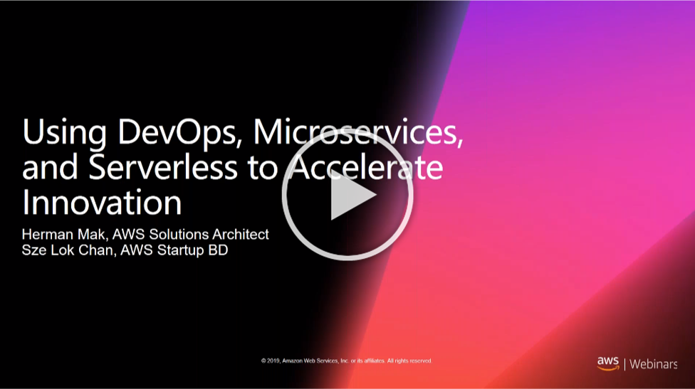 Using DevOps, Microservices, and Serverless to Accelerate Innovation