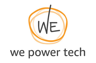 The 'We Power Tech' logo.
