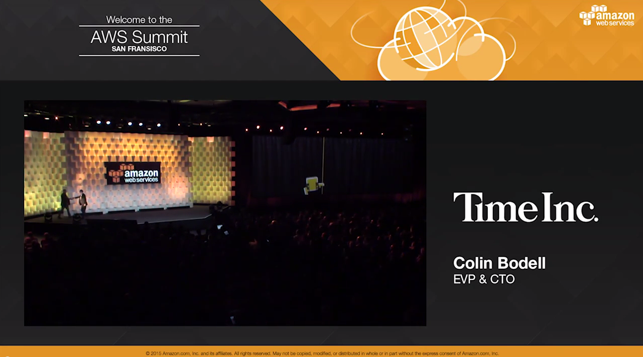 AWS re:Invent 2014 | Time Inc. Goes All-In with the AWS Cloud