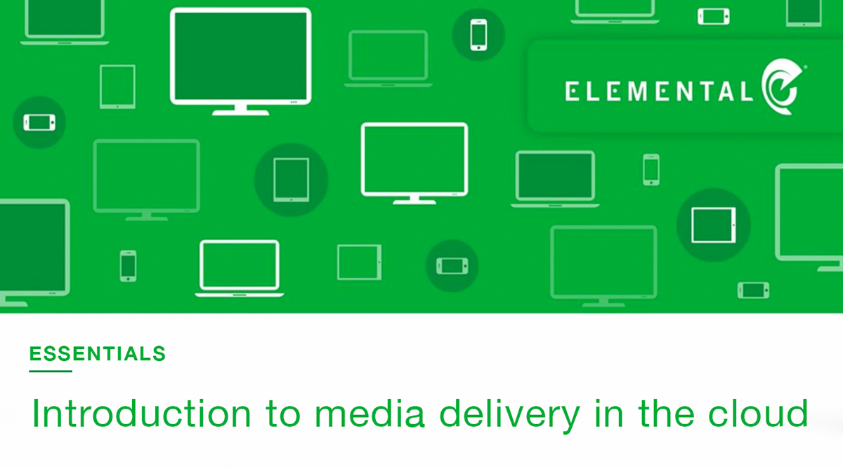 AWS Webinar | Introduction to Media Processing, Delivery and Storage in the Cloud