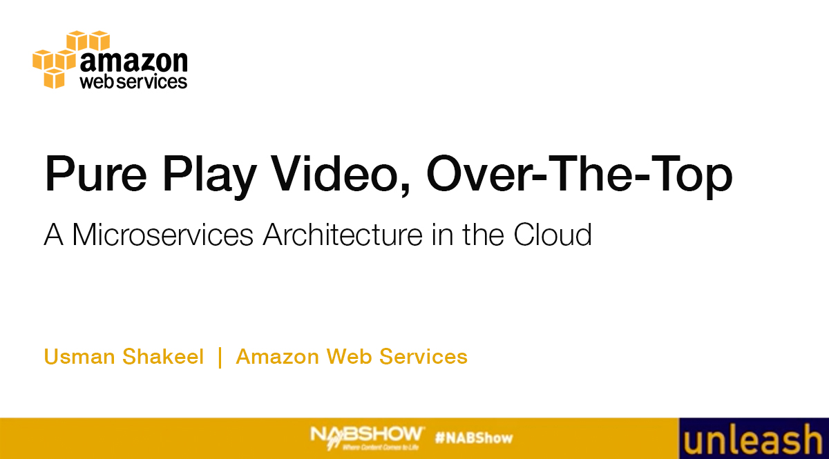 Pure Play Video OTT | A Microservices Architecture in the Cloud