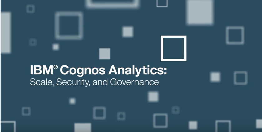 IBM Cognos Video Thumbnail