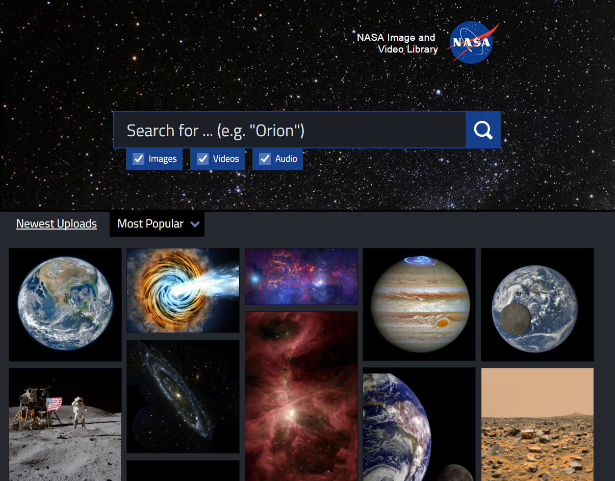 NASA screen shot