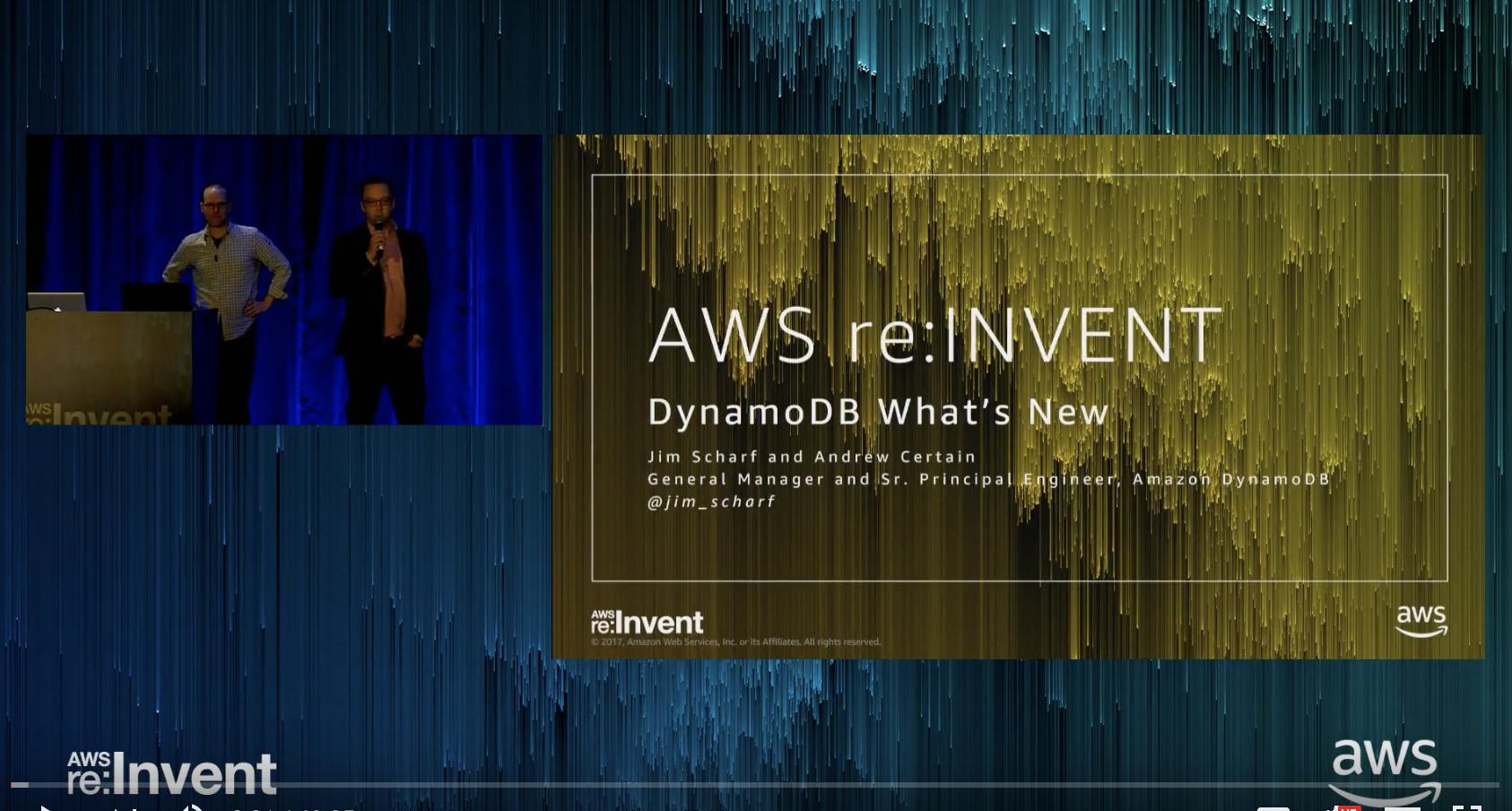 Amazon DynamoDB Backup & Restore - Simple, fully managed