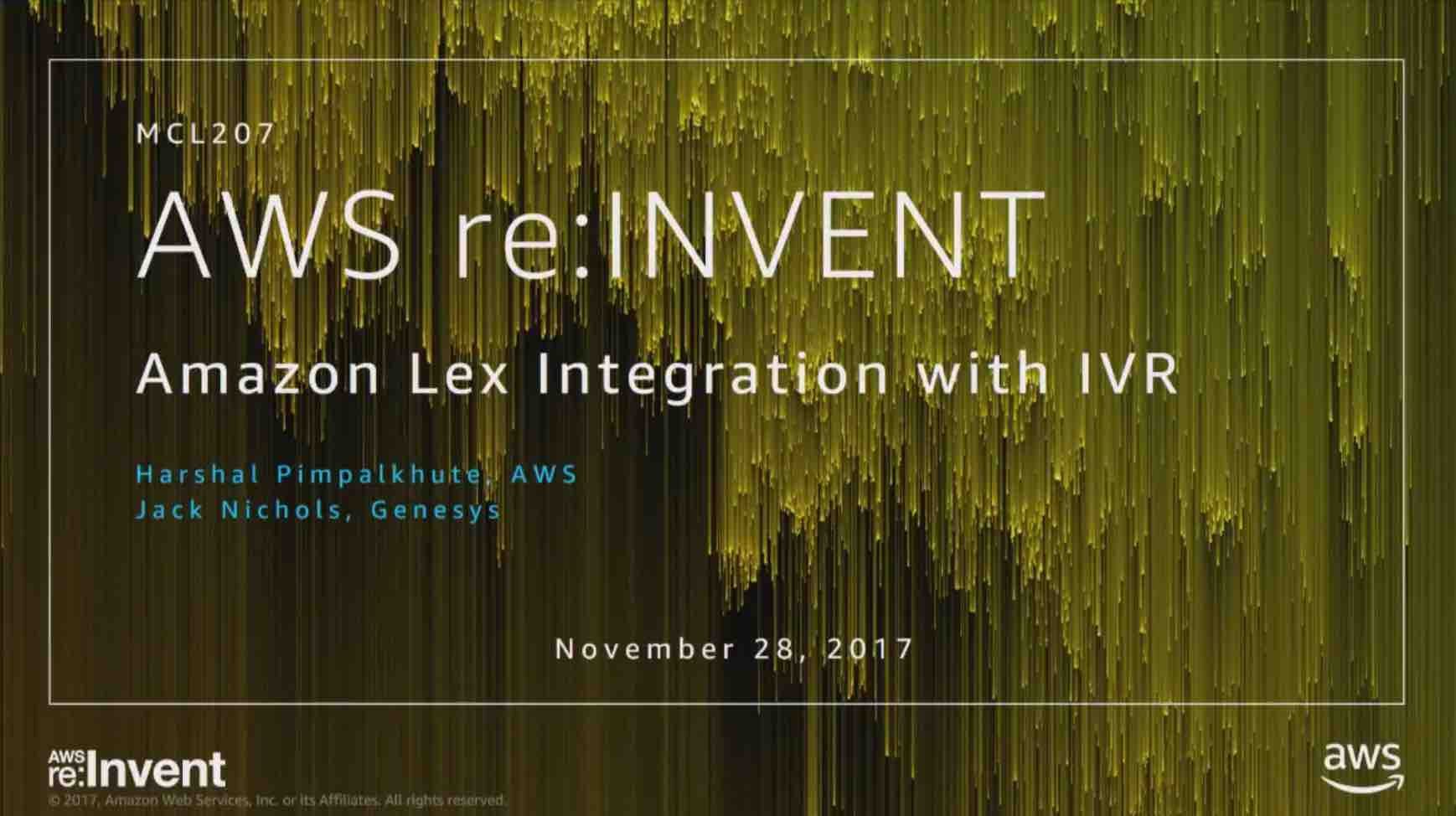 Amazon Lex Integration with Interactive Voice Response (IVR) Workflow