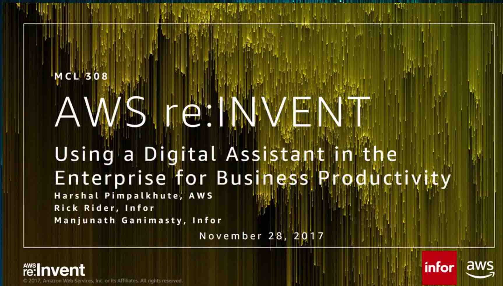 Using a Digital Assistant in the Enterprise for Business Productivity