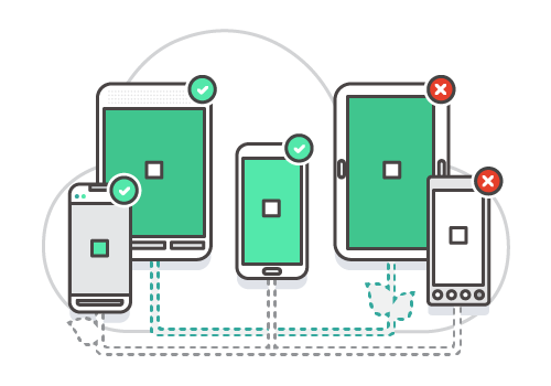 Pruebas de aplicaciones móviles automatizadas