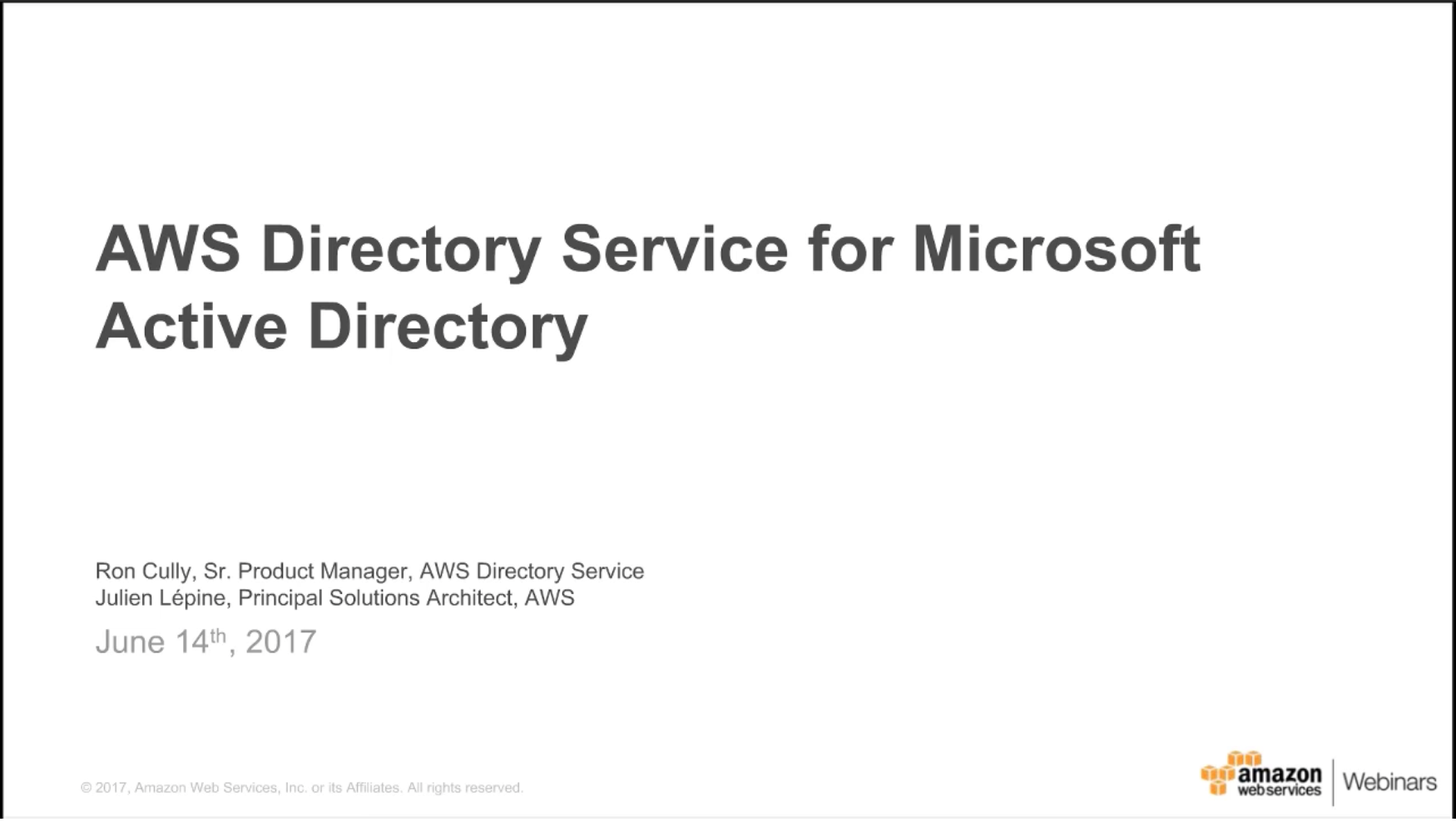 Product details amazon web services aws aws directory service for microsoft active directory 1betcityfo Choice Image