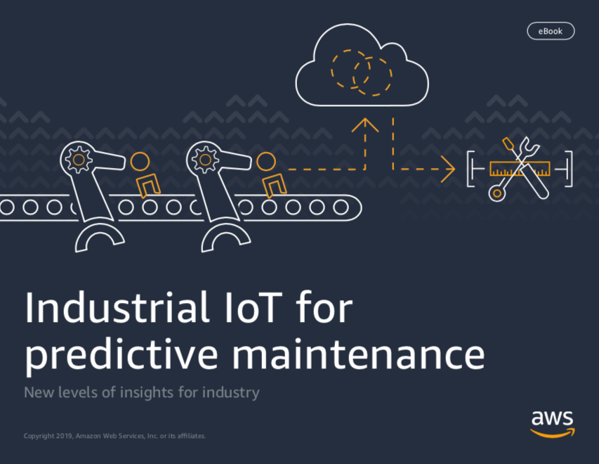 E-book AWS Industrial IoT Predictive Maintenance
