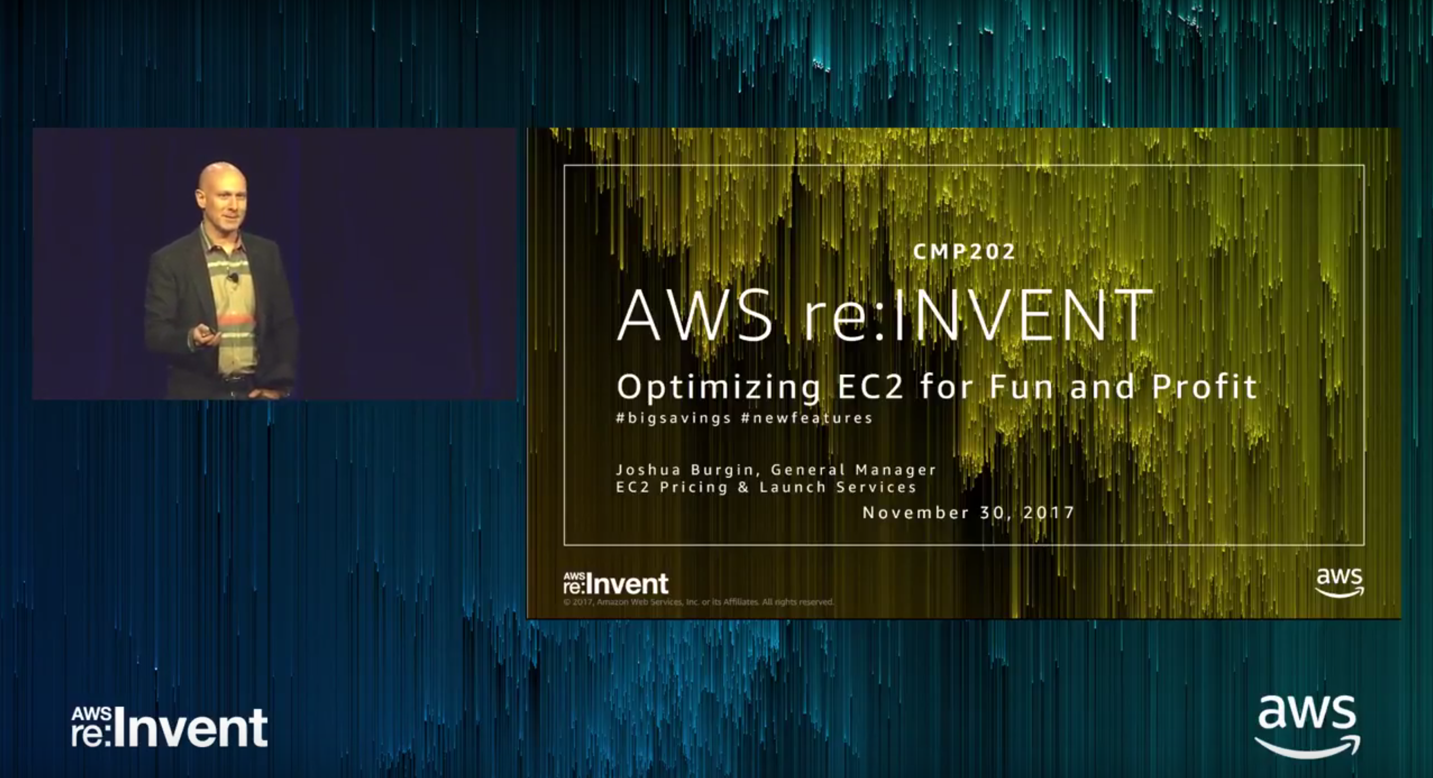 AWS reInvent 2017 - Optimizing EC2 for Fun and Profit