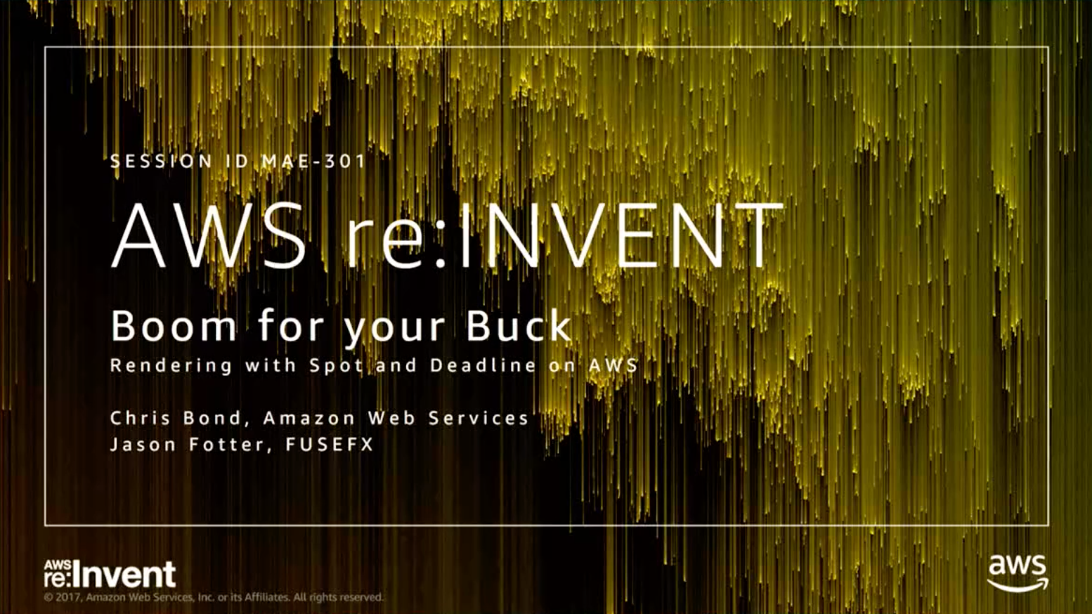 Boom for Your Buck_Thinkbox Deadline_Spot