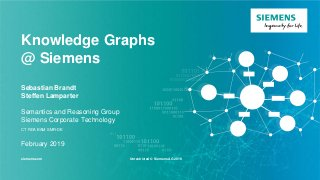 Knowledge Graphs Siemens