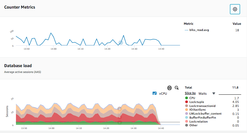 Performance Insights Counter Metrics