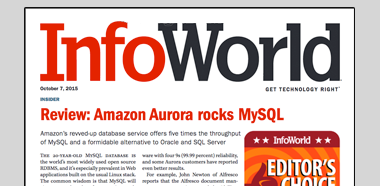 InfoWorld Performance Assessment for Aurora