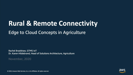 Rural and Remote IoT Applications in Agriculture