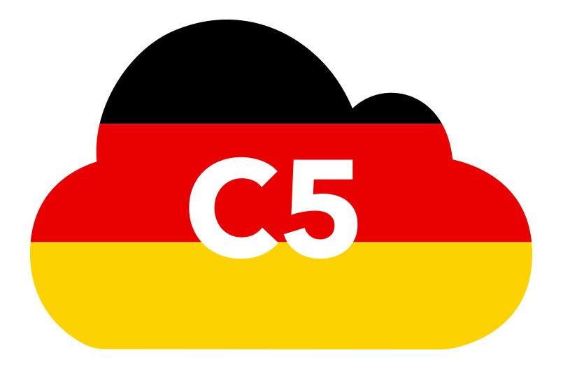 C5 Standard - Amazon Web Services (AWS)