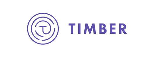 Logotipo de Timber.io