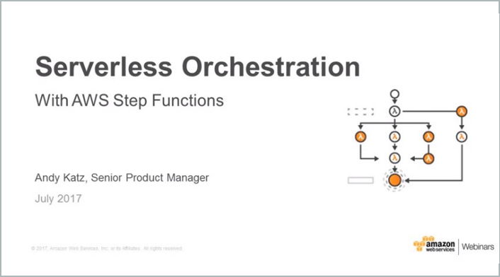 Serverless Orchestration Step Functions