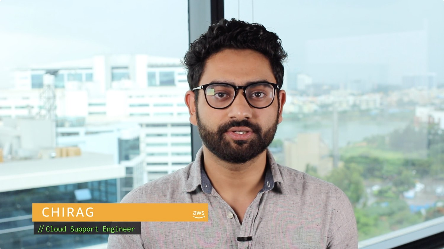 Watch Chirag's video to learn more
