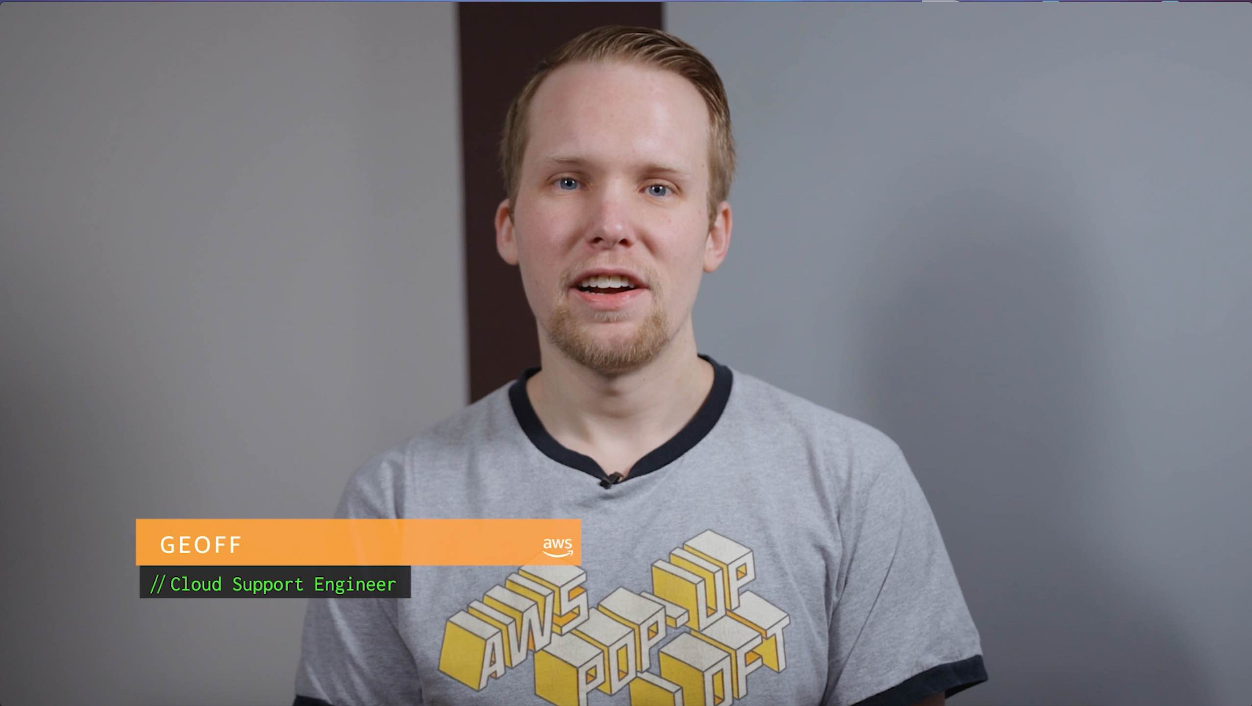 Geoff helps you serve content with CloudFront using an S3 API or website endpoint