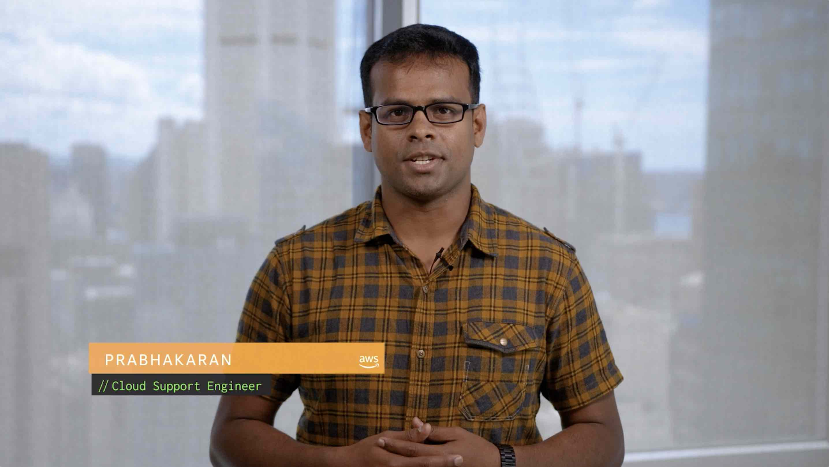 Watch Prabhakaran's video to learn more