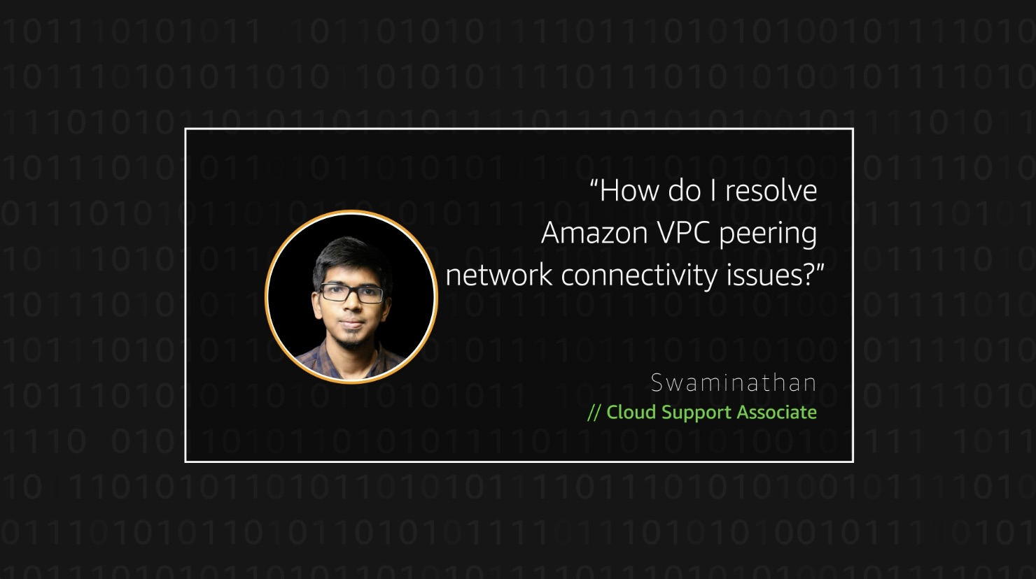 Watch Swaminathan's video to learn more