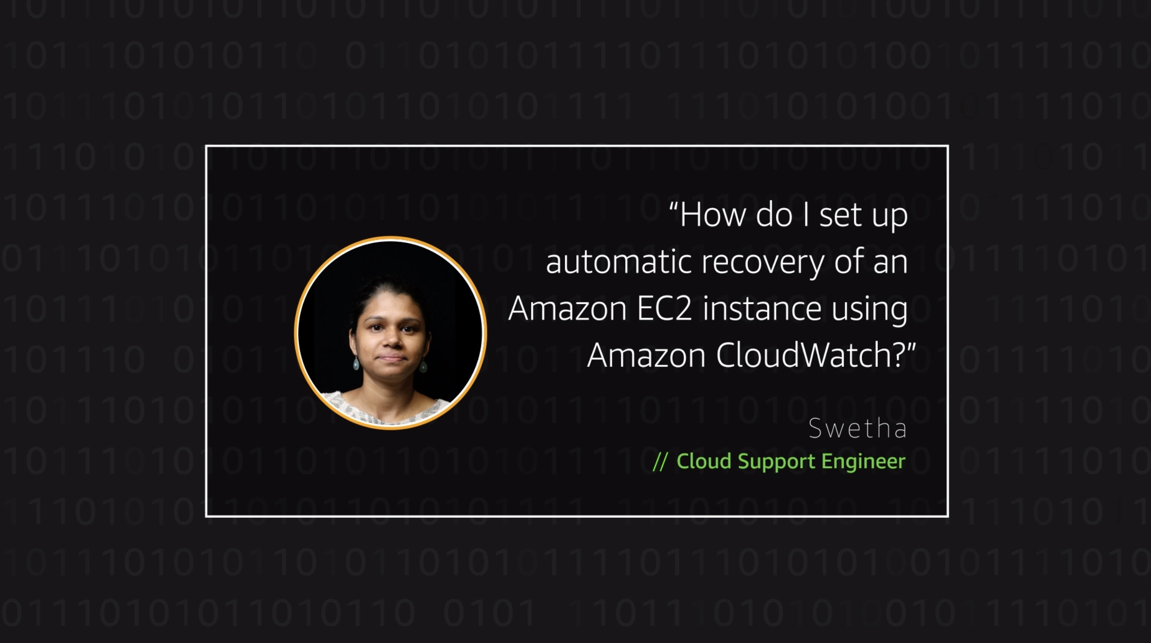 Watch Swetha's video to learn more