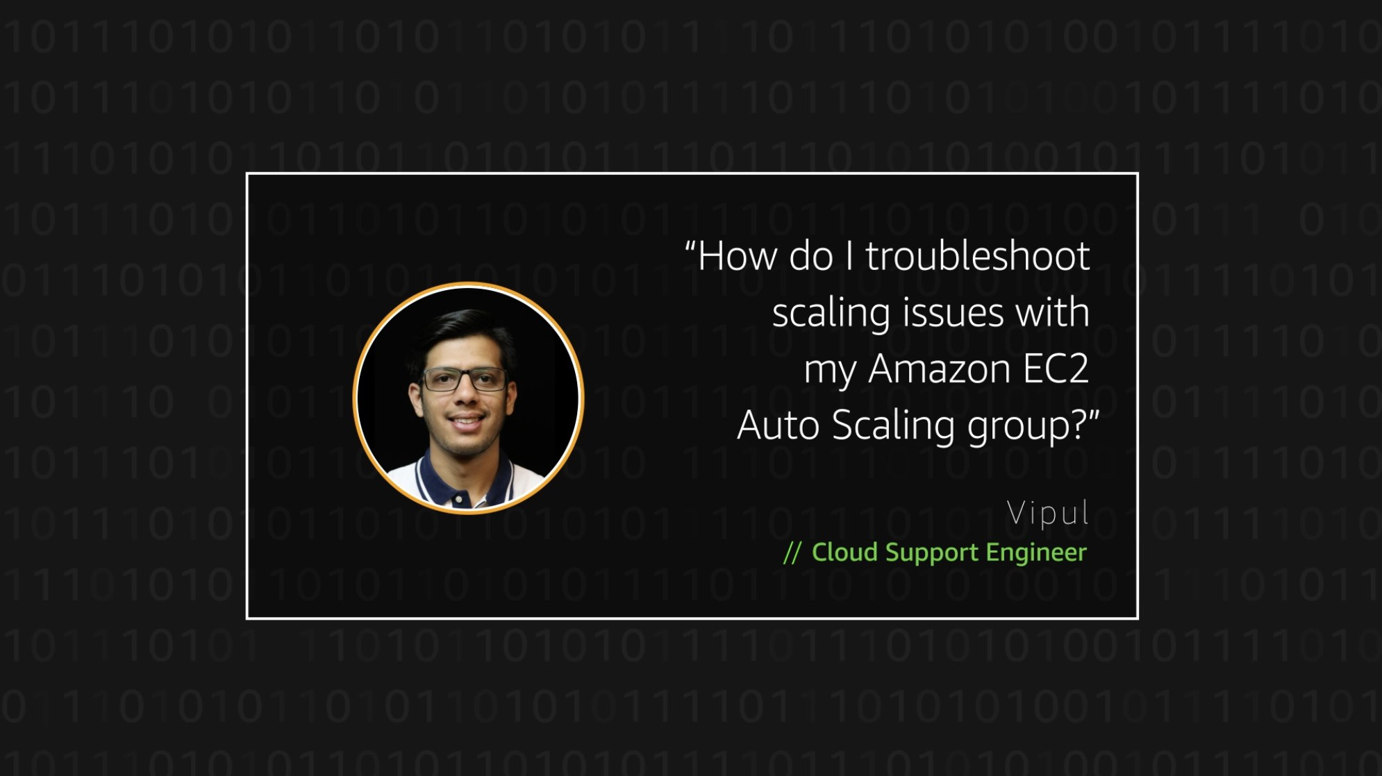 Watch Vipul's video to learn more