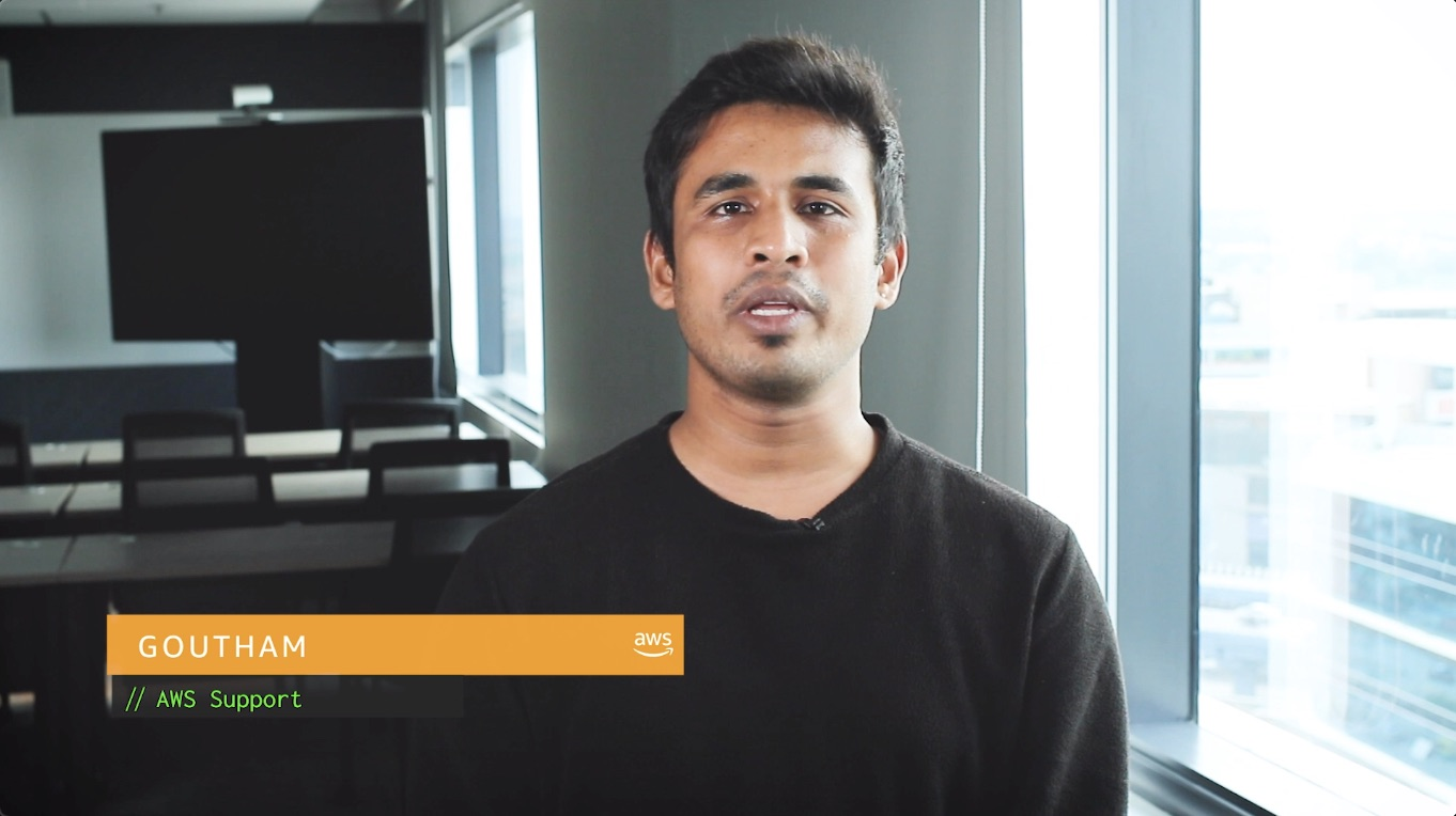 Watch Goutham's video to learn more
