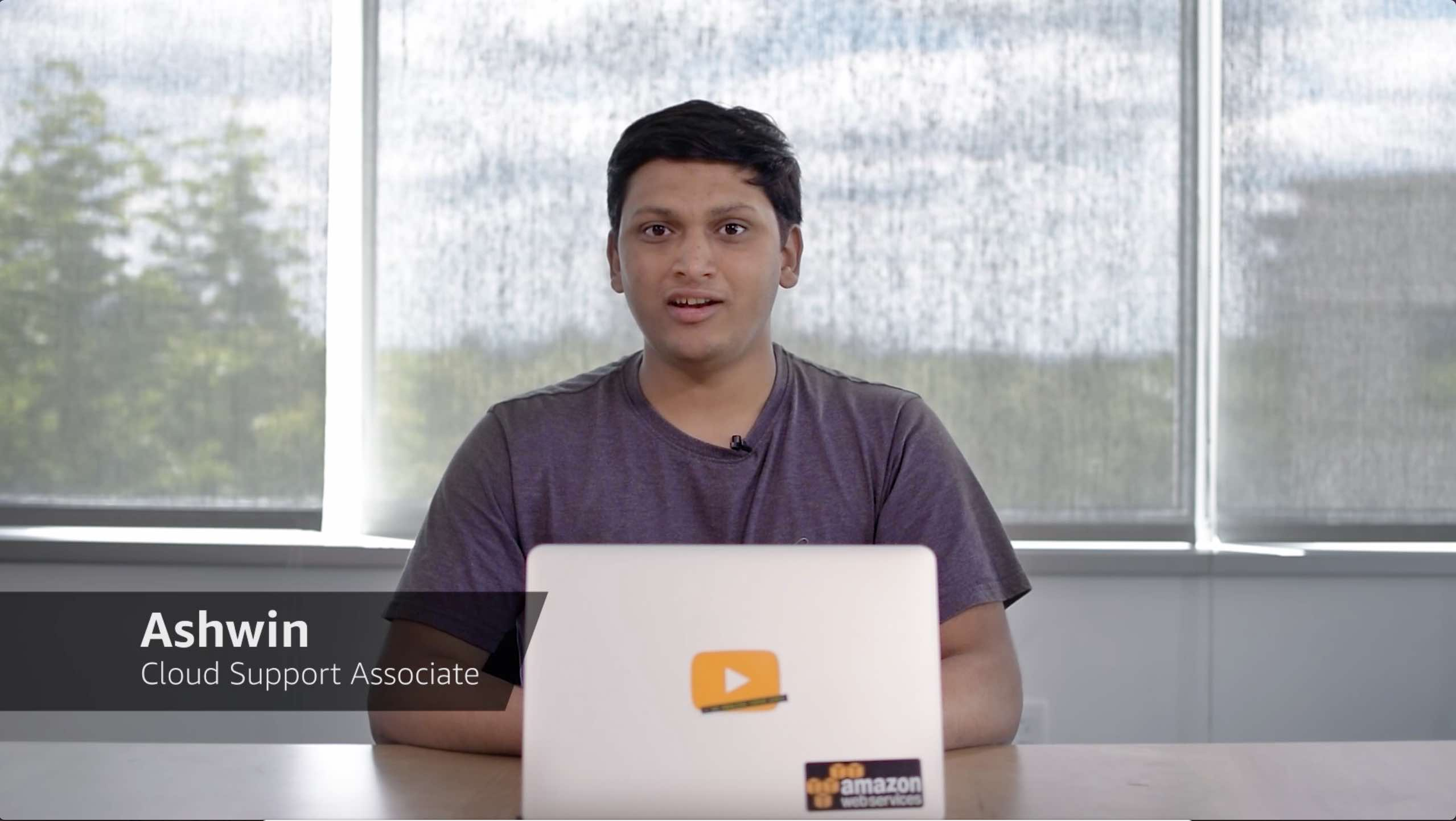 Watch Ashwin's video to learn more