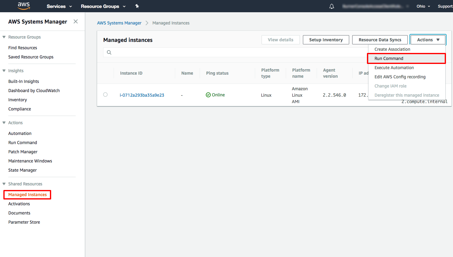 How to Remotely Run Commands on an EC2 Instance with AWS Systems