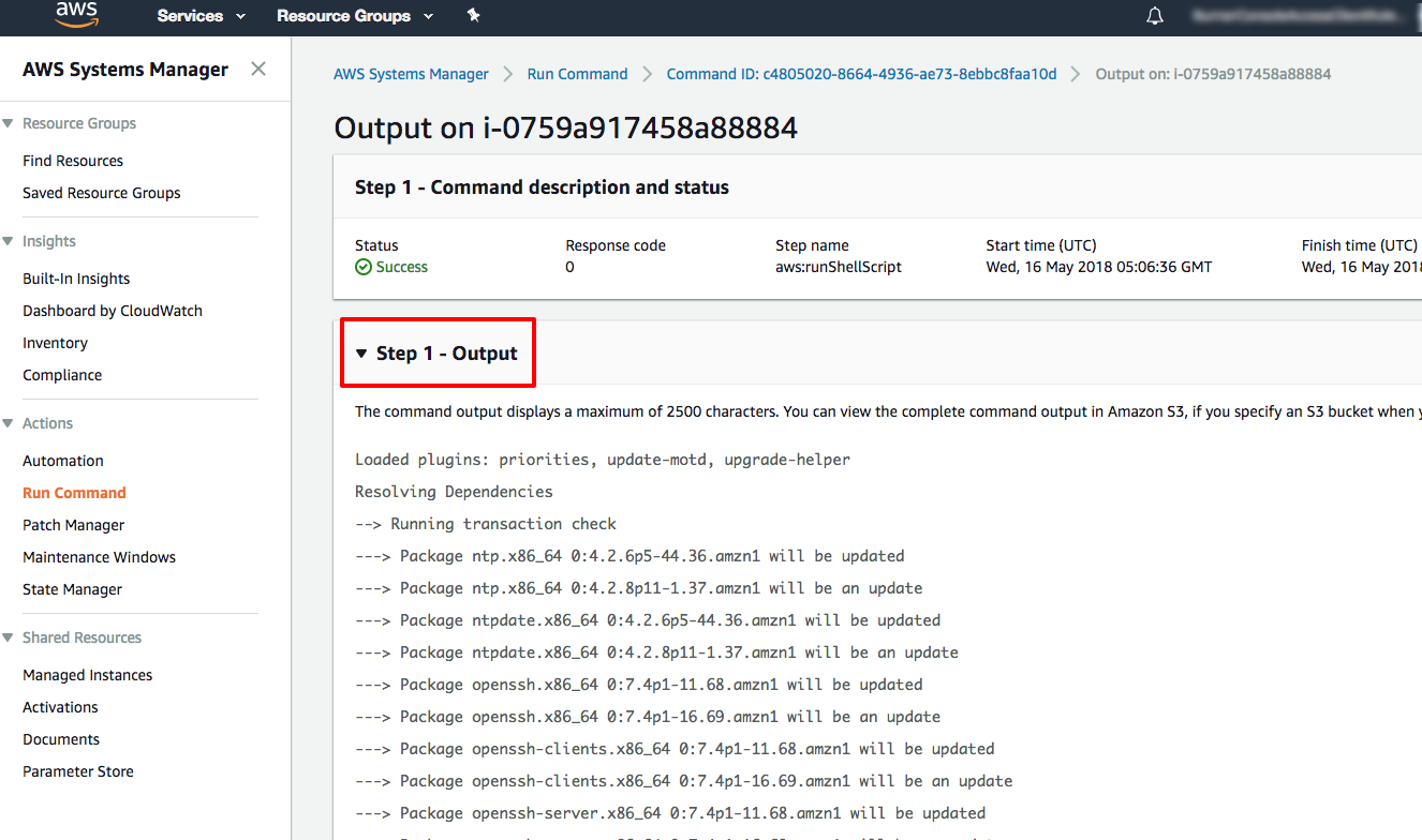 How to Remotely Run Commands on an EC2 Instance with AWS