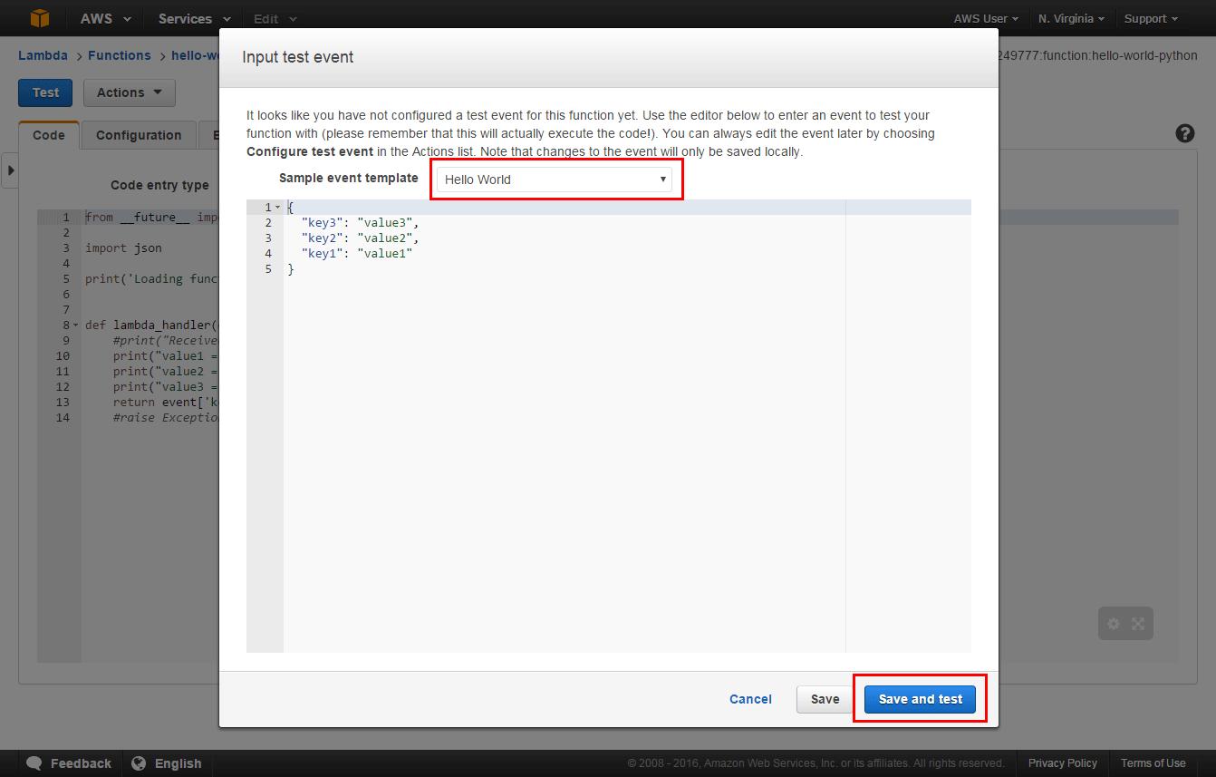 Cómo ejecutar código sin servidor – Amazon Web Services (AWS)