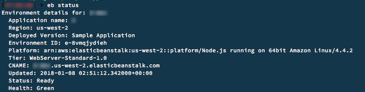How to Deploy an Application with the Elastic Beanstalk Command Line