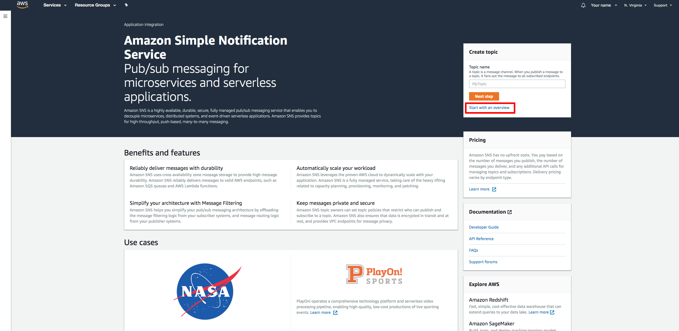 How to Filter Messages Published to Amazon SNS Topics - AWS