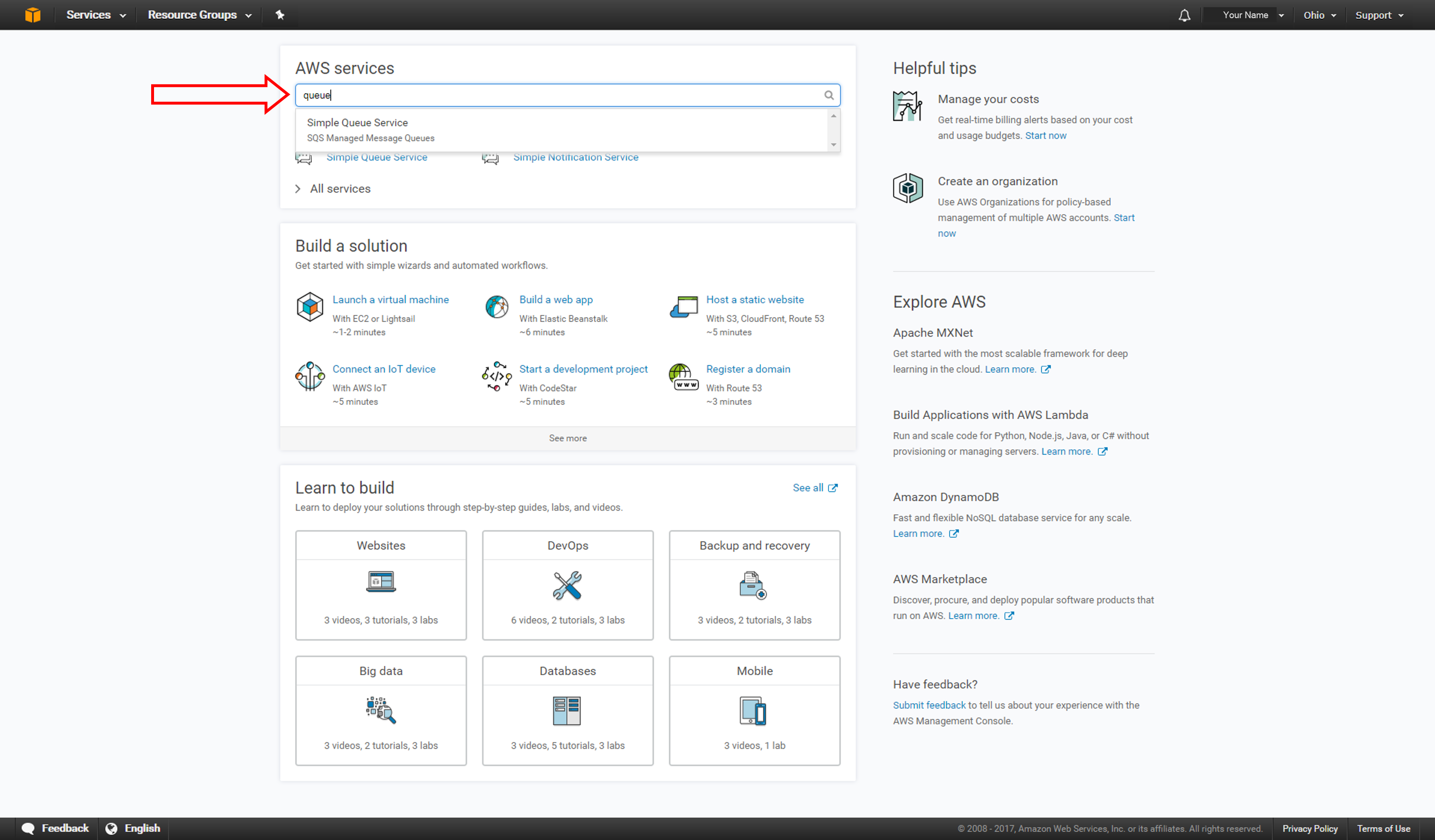 How to send messages between distributed applications - AWS